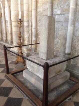 Ely Cath ancient Cross
