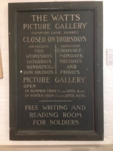 Watts_Gallery_Notice