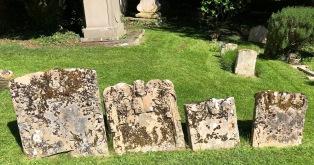 Whitminster_St_Andrew_Cherub_stones