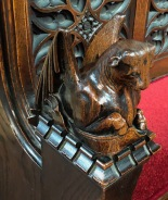 Stamford_All_Saints-Bench-End-St-Luke