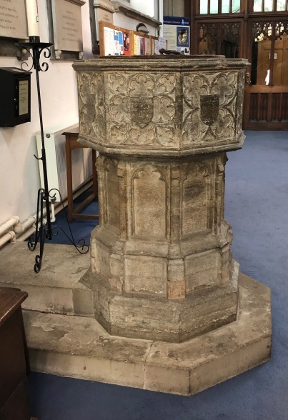 Stamford_All_Saints-Font